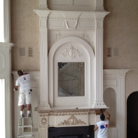 working-on-fireplace