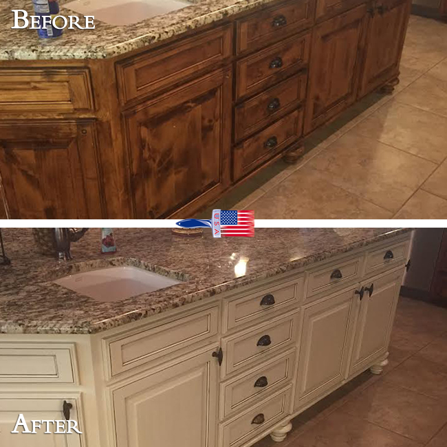 Bring New Life To Old Cabinets