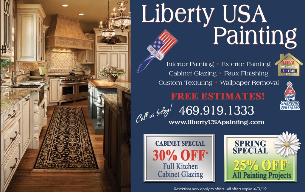 Liberty USA Painting 2019 Specials